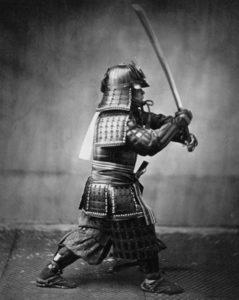 Samurai warriors used bento boxes.