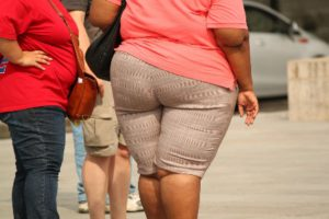 High percentage of Americans are overweight.