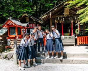 Japanese school children did not used to be overweight.