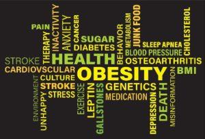 Obesity promotes diseases bodies.