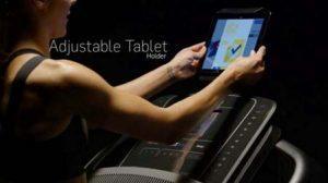 NordicTrack 1750 Commercial Series Treadmill - iPad / Tablet holder