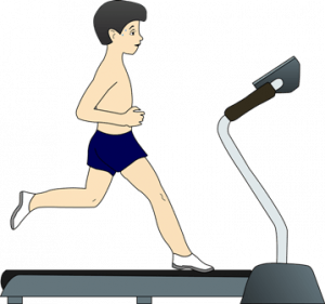 The treadmill belt should be longer and wider for running.
