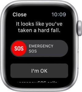 Apple Watch Series 4 - Emergency SOS