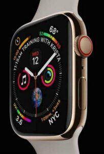 Apple Watch Series 4 - sleeker and slimmer