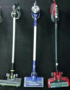Cordless vacuum cleaners don't have the power or stamina to do the job.