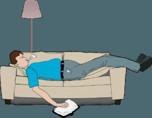 LETSCOM Fitness Tracker HR tracks deep sleep and light sleep.