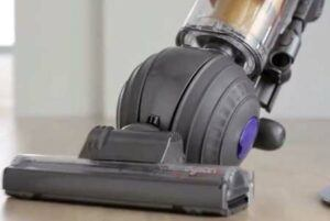 Dyson has a self adjusting vacuum head that seals to the floor for greater suction.