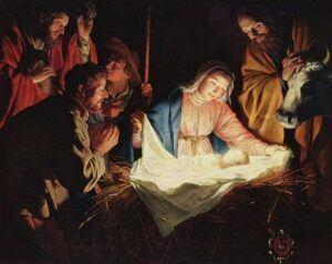 Jesus Christ nativity - born on 25 December.