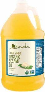 Kevala Sesame Oil is good for oil pulling.