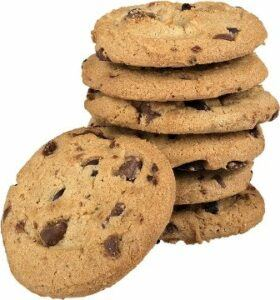 Junk food like cookies are not a healthy food for your body.